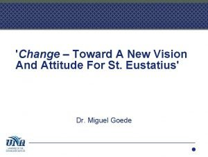Change Toward A New Vision And Attitude For