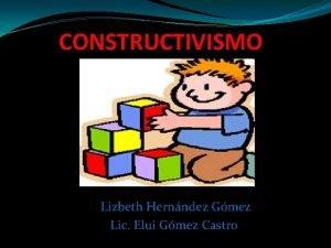 CONSTRUCTIVISMO Lizbeth Hernndez Gmez Lic Elui Gmez Castro