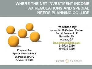 WHERE THE NET INVESTMENT INCOME TAX REGULATIONS AND