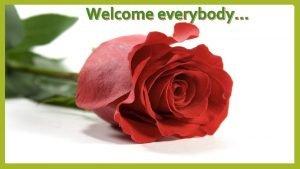 Welcome everybody Identity Nurul Aziz Assistant Teacher English