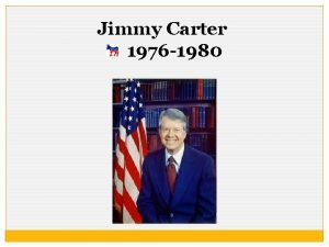 Jimmy Carter 1976 1980 Living Room Candidate http