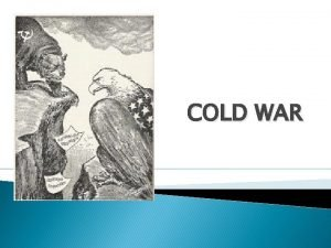 COLD WAR I ARMS RACE Arms Race 1945