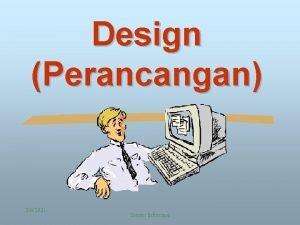Design Perancangan 362021 Sistem Informasi Siklus Hidup Pengembangan
