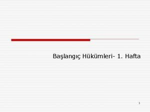 Balang Hkmleri 1 Hafta 1 Sosyal Dzen Kurallar