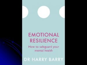Mental Health and Wellbeing the Importance of Emotional