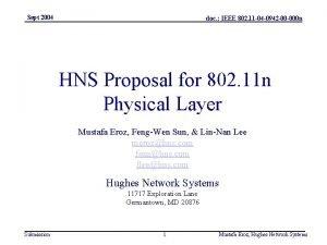 Sept 2004 doc IEEE 802 11 04 0942