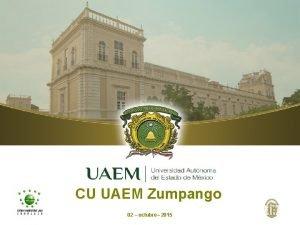 CU UAEM Zumpango 02 octubre 2015 CU UAEM