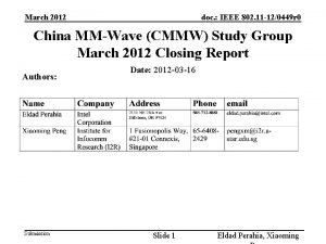 March 2012 doc IEEE 802 11 120449 r