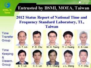 NTFSL TL Taiwan Entrusted by BSMI MOEA Taiwan