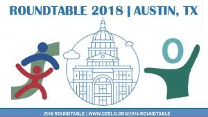 2018 ROUNDTABLE WWW CEELO ORG2018 ROUNDTABLE HighQuality Instruction