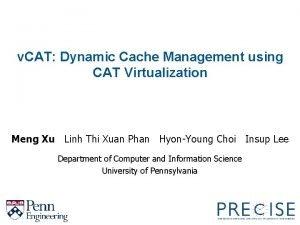 v CAT Dynamic Cache Management using CAT Virtualization