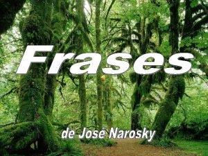 Jos Narosky Escribano y escritor argentino nacido en