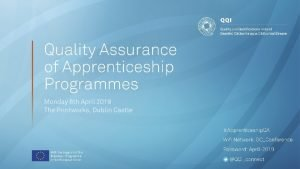 Apprenticeship An Employer Perspective Siobhn Kinsella Recruitment in