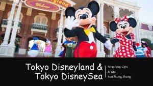 Tokyo Disneyland Tokyo Disney Sea Ning Jung Chiu