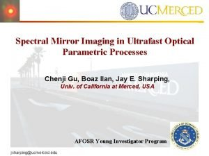 Spectral Mirror Imaging in Ultrafast Optical Parametric Processes