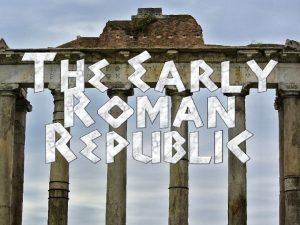 How did the government of the Roman Republic