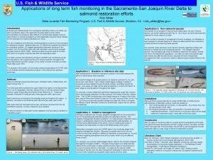 U S Fish Wildlife Service Applications of long