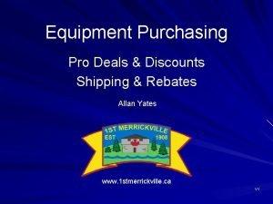 Equipment Purchasing Pro Deals Discounts Shipping Rebates Allan