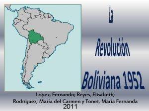Lpez Fernando Reyes Elisabeth Rodrguez Mara del Carmen