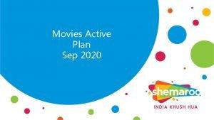 Movies Active Plan Sep 2020 Movies Movies Post