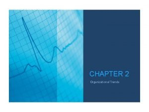 CHAPTER 2 Organizational Trends TRENDWATCH CHARTBOOK 2016 Organizational