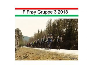 IF Fry Gruppe 3 2018 IF Fry gruppe