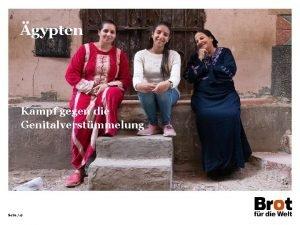 gypten Kampf gegen die Genitalverstmmelung Seite 17 gypten