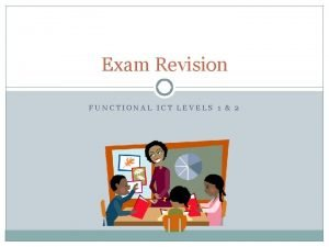 Exam Revision FUNCTIONAL ICT LEVELS 1 2 Starter