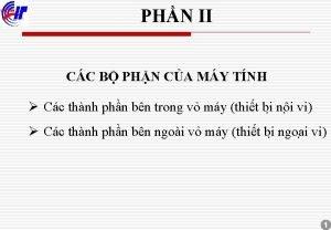 PHN II CC B PHN CA MY TNH