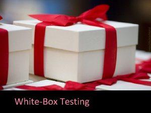 WhiteBox Testing https flic krp9 AWLK Recall Common