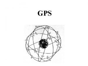 GPS Orbite ellittiche leggi di Keplero valide per