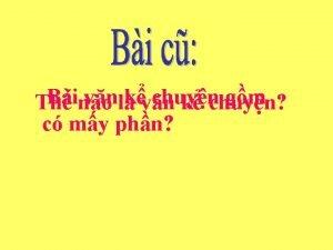 Bino vnlkvn chuyn gm Th k chuyn c