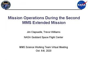 Mission Operations During the Second MMS Extended Mission