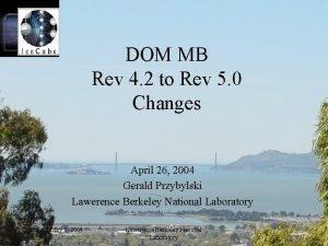 DOM MB Rev 4 2 to Rev 5