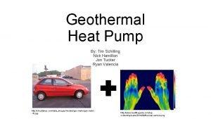 Geothermal Heat Pump By Tim Schilling Nick Hamilton