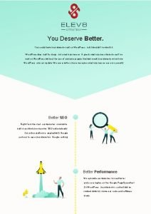 You Deserve Better You could have your website