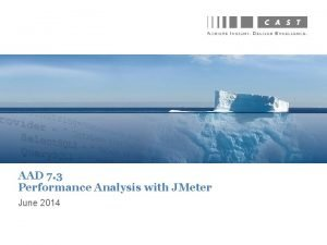 AAD 7 3 Performance Analysis with JMeter June