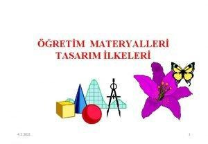 RETM MATERYALLER TASARIM LKELER 4 3 2021 1