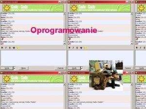 Oprogramowanie Warstwy Oprogramowanie uytkowe Oprogramowanie systemowe Sprzt Komputerowy