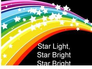 Star Light Star Bright Bright Lights The night