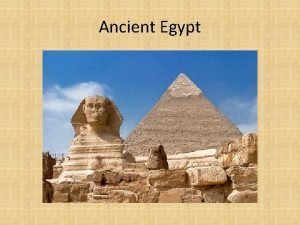 Ancient Egypt Geography Northeast Africa Crossroads of 3