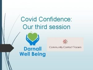 Covid Confidence Our third session Todays Covid Confidence