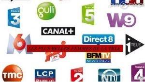 LES PLUS BELLES FEMMES DE LA TELE Journalistes