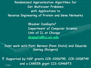 Randomized Approximation Algorithms for Set Multicover Problems with