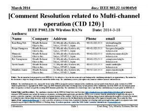 March 2014 doc IEEE 802 22 140045 r