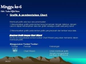 Minggu ke6 Oleh Teuku Kilfad Mara Grafik pembentukan