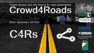 Smart Road Sense MOTIVATIE 1 ROAD NETWORK ntretinerea