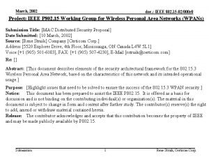 March 2002 doc IEEE 802 15 02000 r