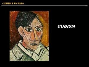 CUBISM PICASSO CUBISM CUBISM PICASSO I paint forms