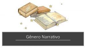 Gnero Narrativo Gneros Literrios Lrico Dramtico pico Narrativo